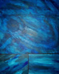 Painting: Blue Squares