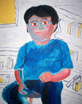 Painting: Self Portrait 2