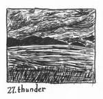 Inktober 2018 #27: Thunder