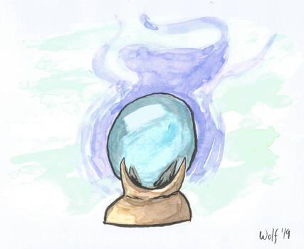 Inktober 2019 #7: Enchanted