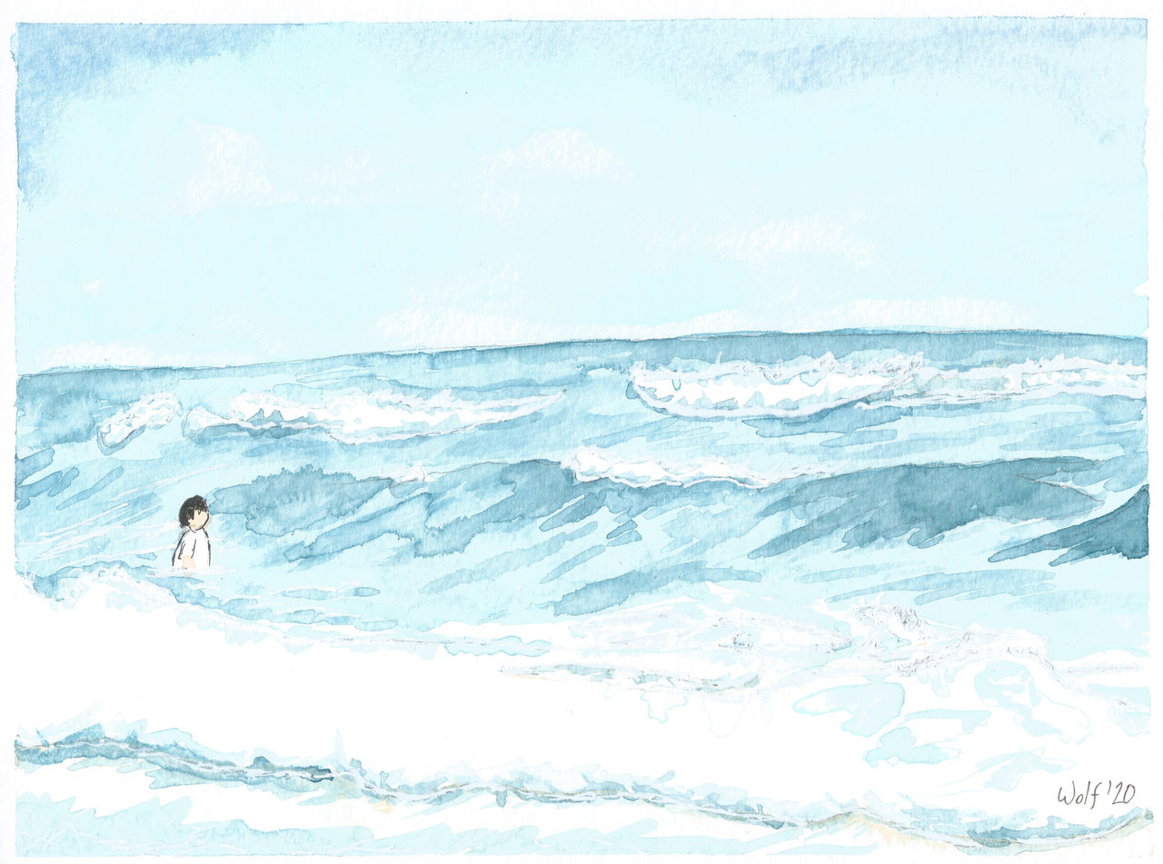 Inktober 52 2020 #9: Wave