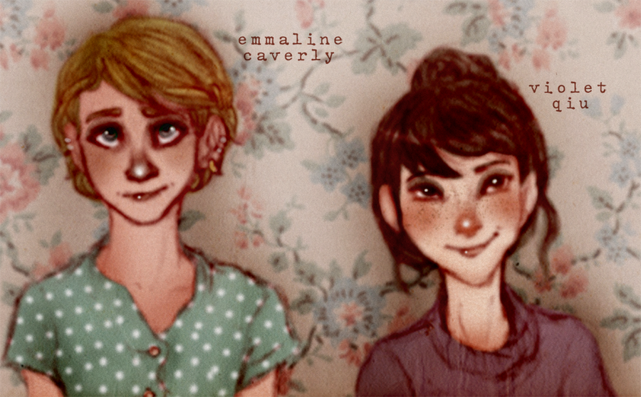 -Emmaline + Violet- by HennaLucas