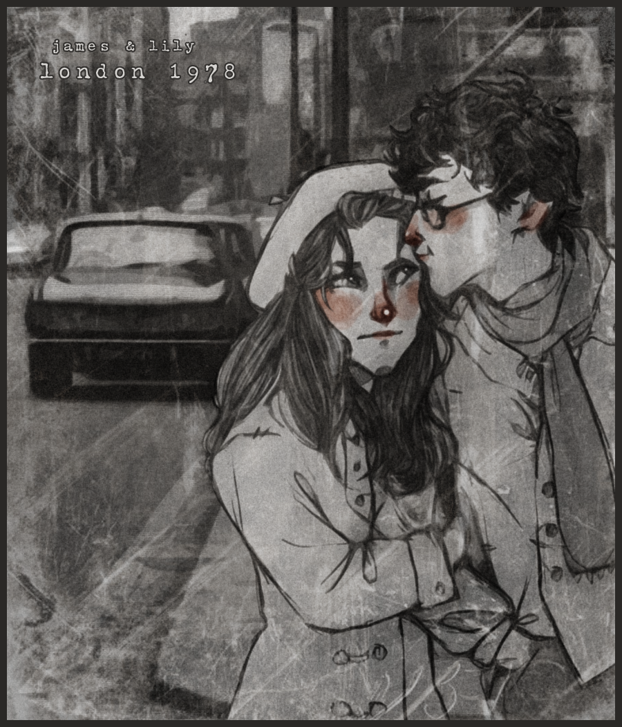 -James + Lily 1978- by HennaLucas