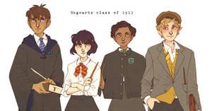 - Hogwarts Class Of 1913 -