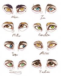 - OC Eyes - by HennaFaunway