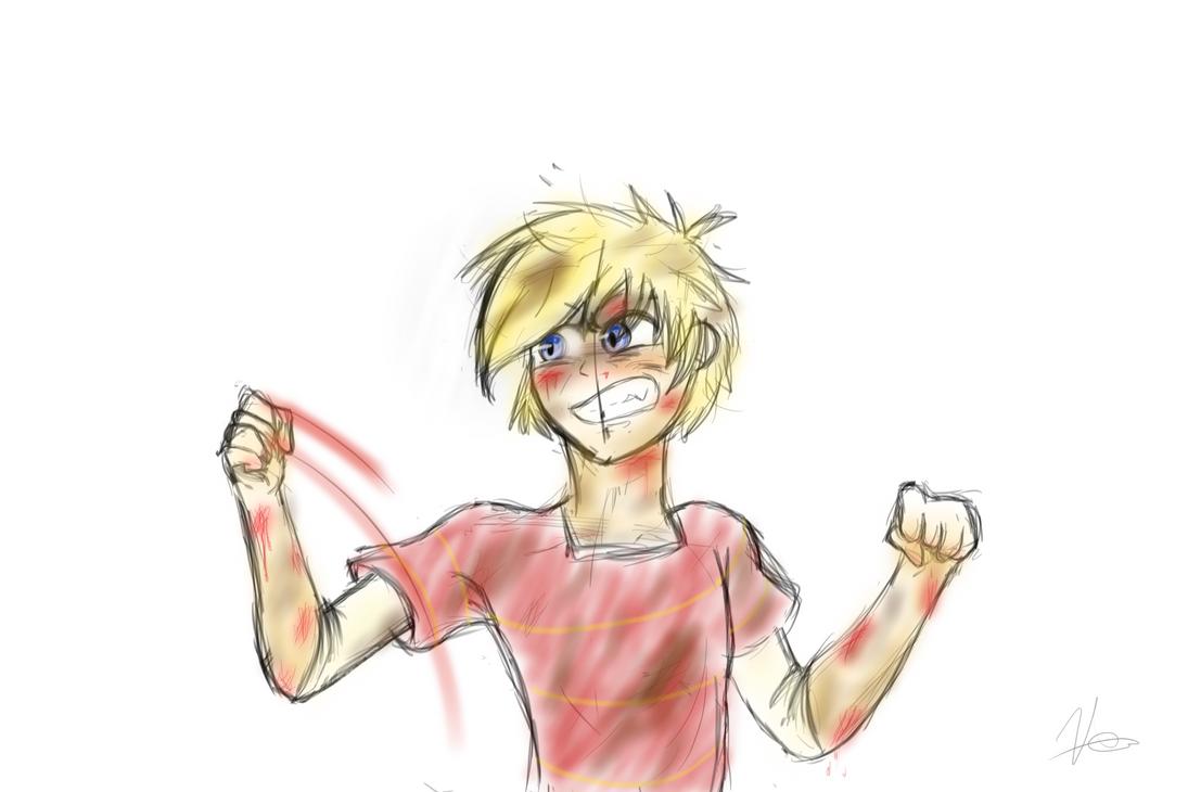 Fight Boy Fight by BlazingComet-V