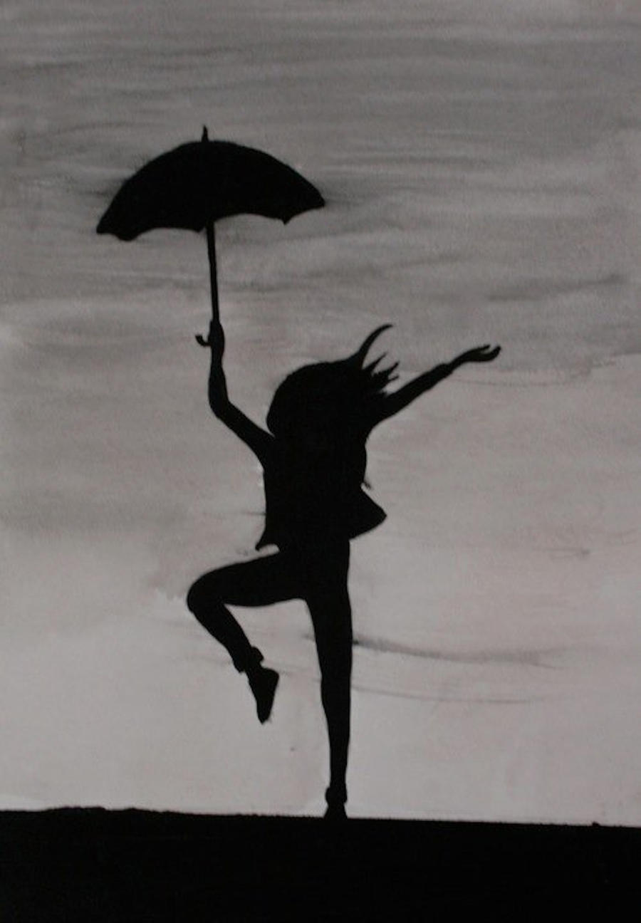 Dancing in The Rain by Malibupainter15 on DeviantArt