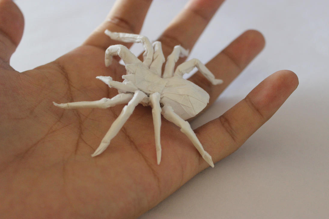 Updated Tadashi Mori's tarantula by adamrai93
