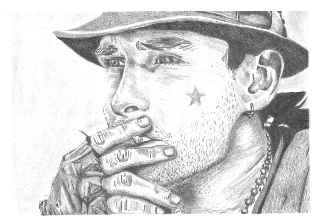 Man Smoking by Henrythehoover1 on DeviantArt