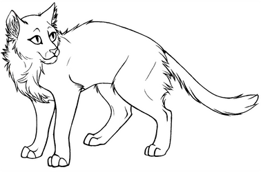 cat lineart from Contra Sheet by cleopata