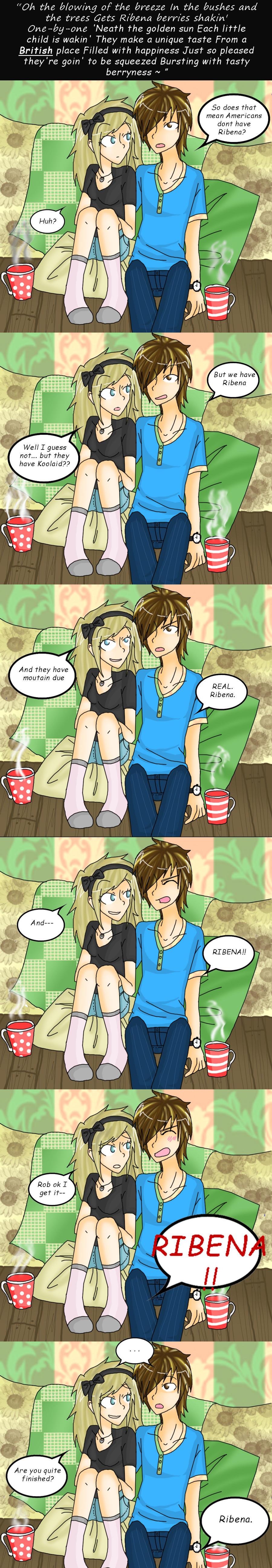Ribena Comic by Fiftyshadesofkay
