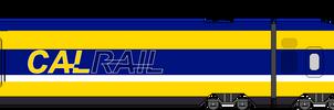 CalRail HSR Livery