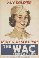 Women's Army Corps poster - 1942 by Mobiyuz