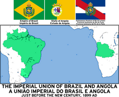 Imperial Union of Brazil and Angola by Mobiyuz