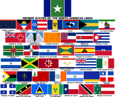 Member States of the North American Union by Mobiyuz