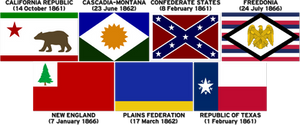 TL31 - The First Seven Post-American Nations by Mobiyuz