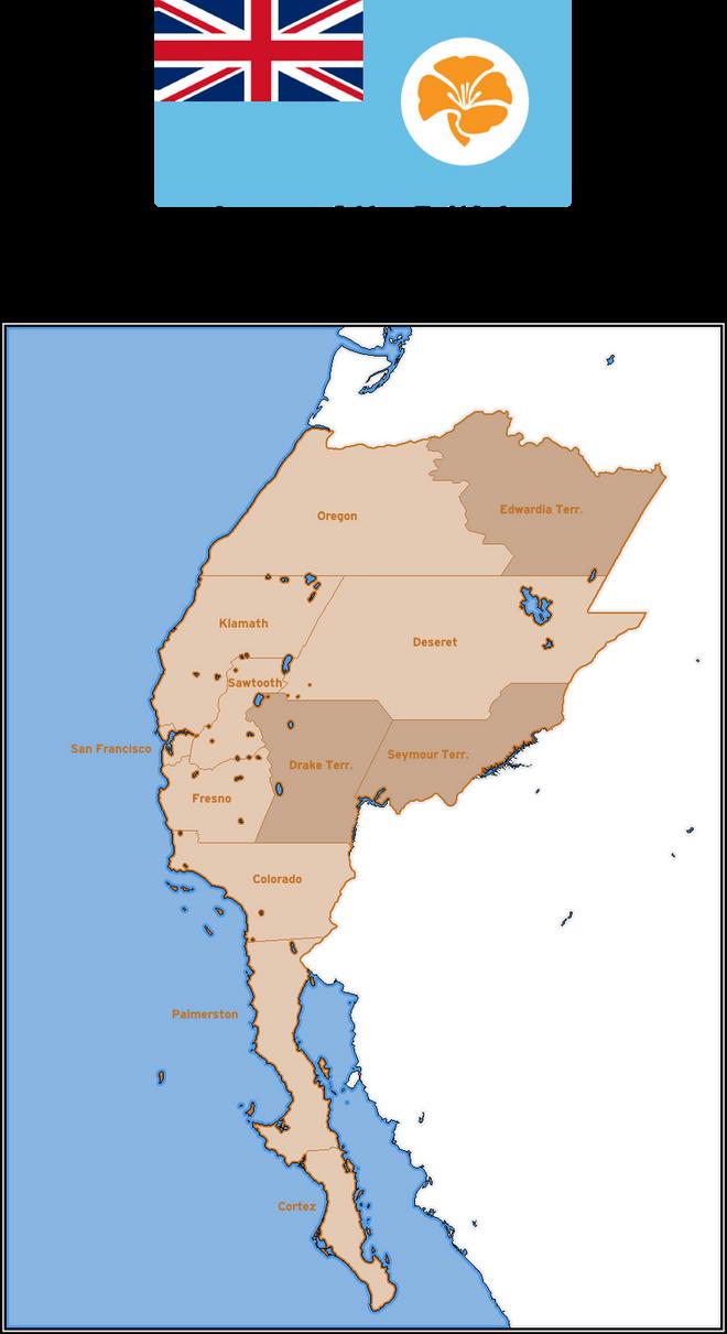 British Dominion of California by Mobiyuz on DeviantArt on