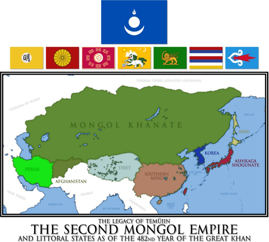 EU4 - The Second Mongol Empire by Mobiyuz on DeviantArt