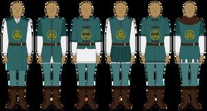 Celtiaid Am Byth - Standard-Issue Uniforms