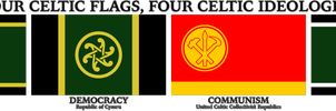 Celtiaid Am Byth - Four Flags, Four Ideologies