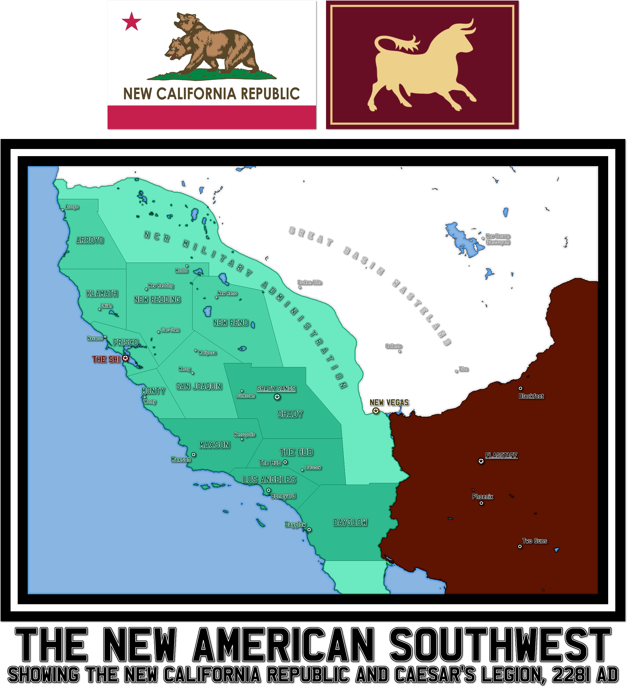 Fallout: New Vegas - The Southwest, 2281