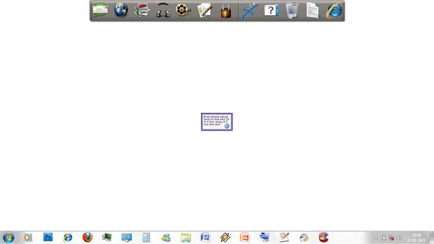 My desktop 28 jan 2011