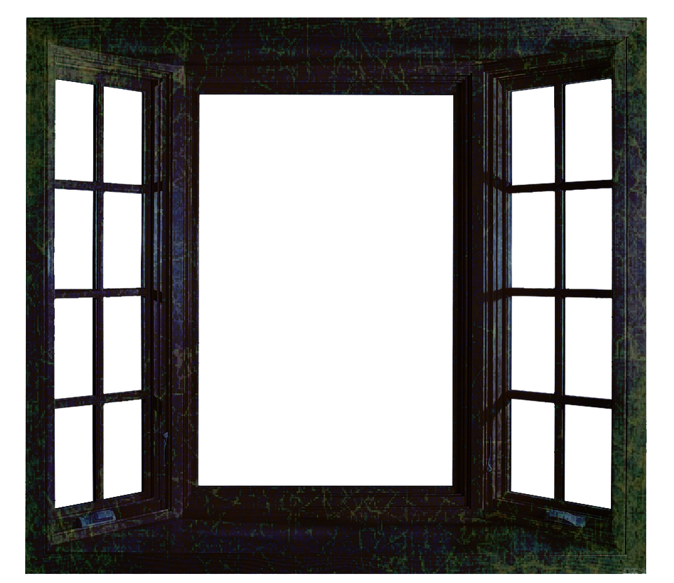 Grunge Window PNG File