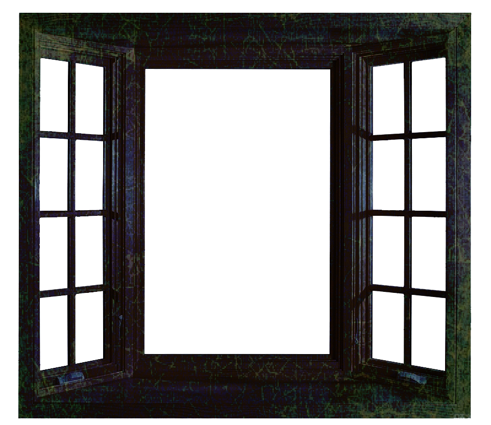 Grunge Window PNG File - Use Freely