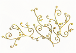 gold swirl png file