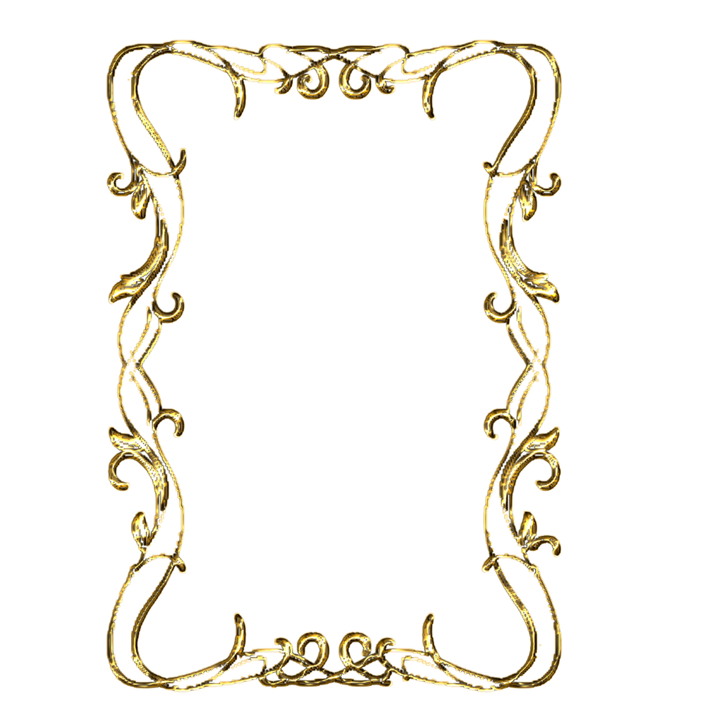 elegant gold borders clip art - photo #16