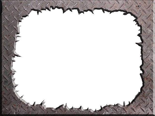 metal frame png transprent by theartist100 - Metal Picture Frame