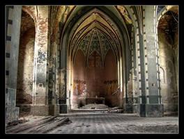 abandoned church by Haszczu