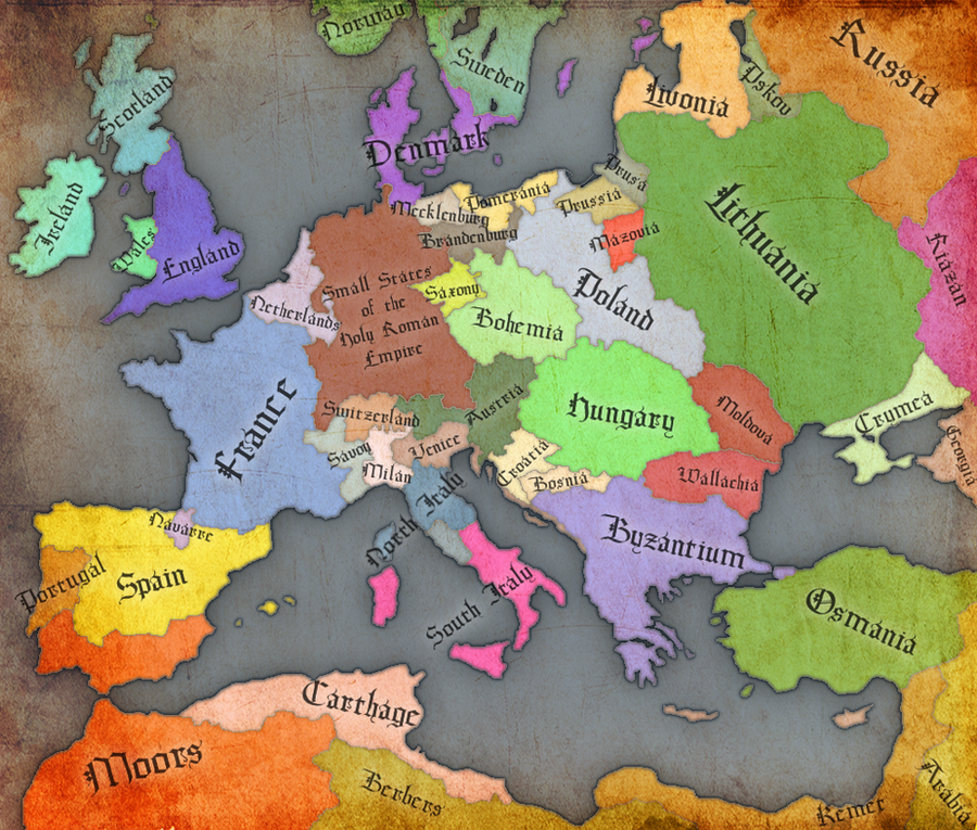 Renaissance Europe   1500 By GTD Orion ...