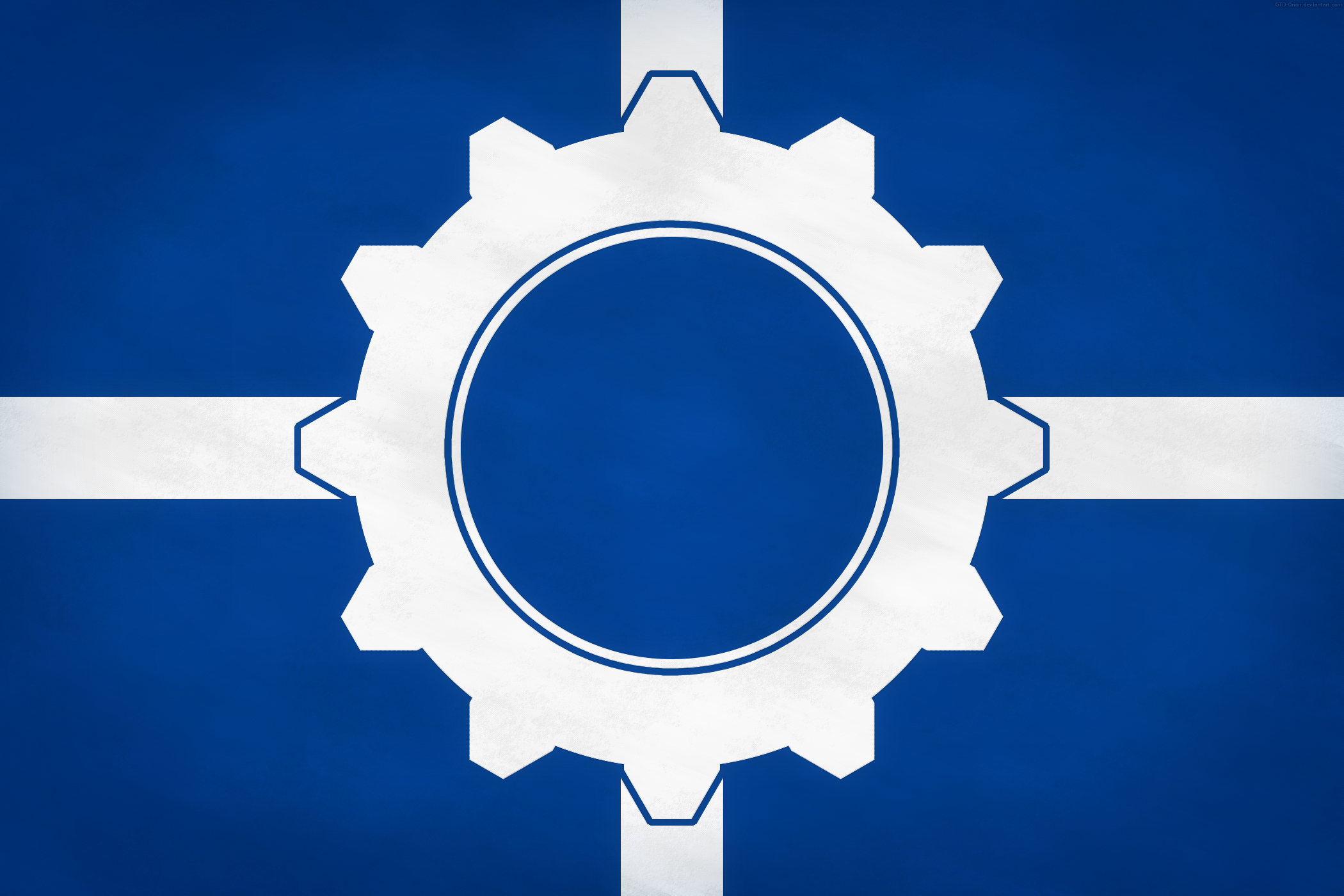 Flag of the Union of European Technates by GTD-Orion