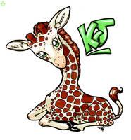giraffe by Ztarli