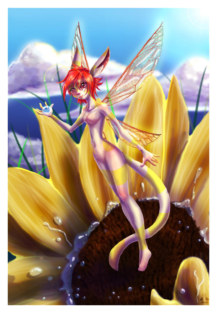 Sola Sunflower Fairy by sugar-cat-candy