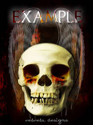 Skull Book Cover Example