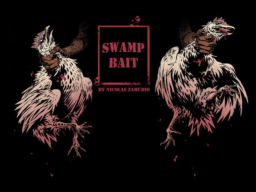SWAMP BAIT Cover#1 by ink-imp
