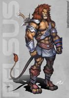 Lion Male by Felsus