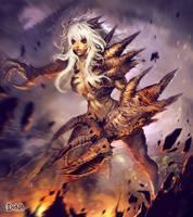 Swarm girl by Felsus