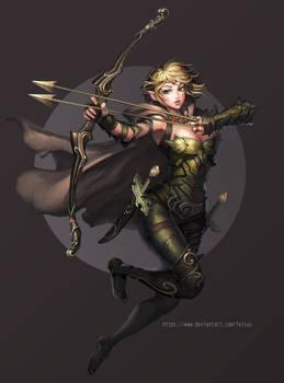 Elf Girl Ranger