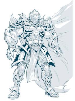 Ganondorf Line art