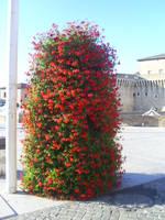 Red-Flower-Bush by Emo-Kiddo-Stock
