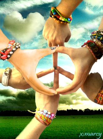 many hands for peace