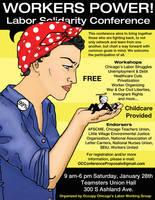 Labor Conference Flyer by egovsego