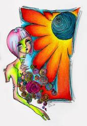 Wild Flower. by SilverMercury