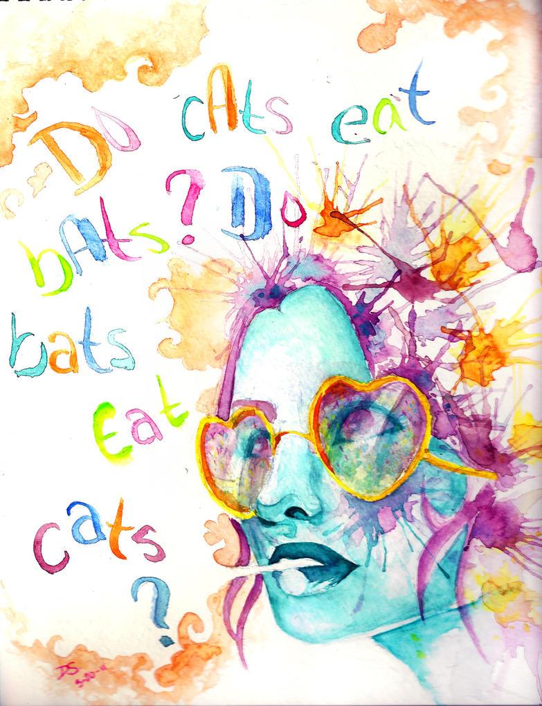 Do Bats Eat Cats? by SilverMercury