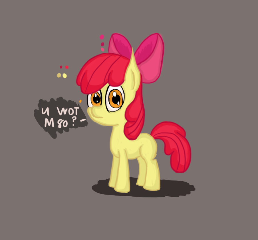 ApplebloomUw0t.png by thesubtle