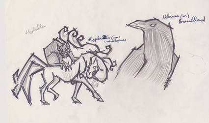 Hyphialtes and Nebiros