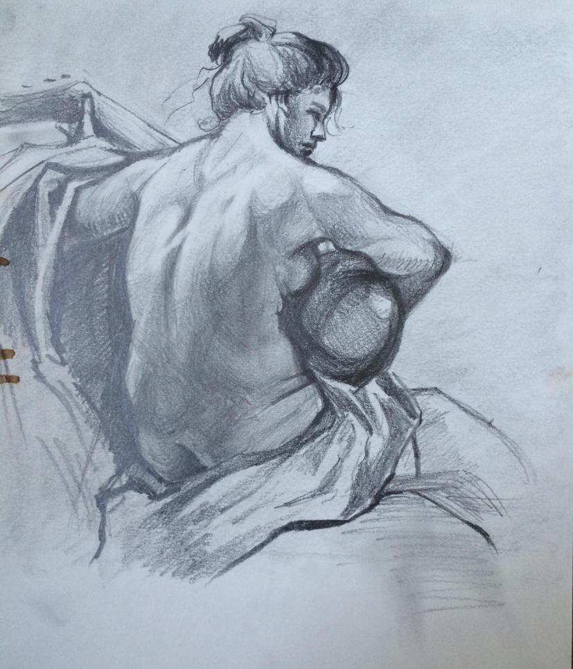 Nude by EarstWindArt